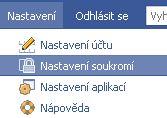 Nastavení soukromí na Facebook