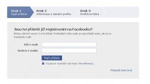 Hledání přátel facebook